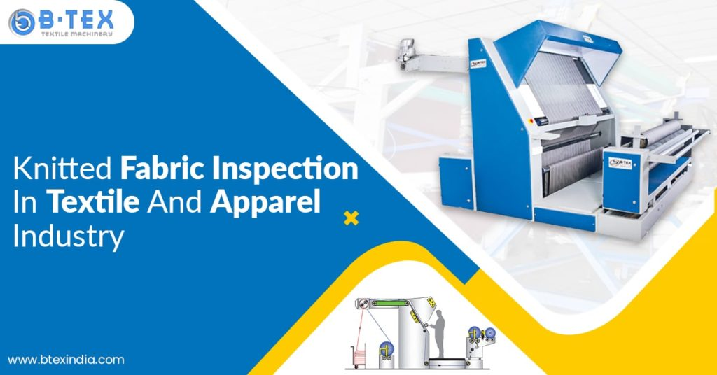 knitted fabric inspection